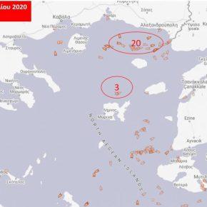 """Οι Τούρκοι """"ψαράδες"""" στο Αιγαίο! 27 αλιευτικά μέχρι στιγμής έχουν βγει από ταΣτενά"""