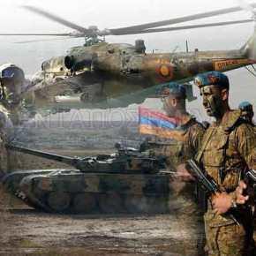 'Κόλαση» φωτιάς από τις ΕΔ της Αρμενίας – Καταστρέφουν θέσεις τωνΑζέρων