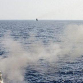 Πήραν φωτιά τα κανόνια του Πολεμικού Ναυτικού – Εντυπωσιακά πλάναVIDEO