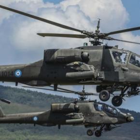 «Κρύος ιδρώτας» στην Τουρκία: «Τα ελληνικά Apache θα έχουν ισραηλινούς πυραύλους SpikeNLOS»