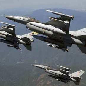 Ενοχλήθηκαν οι Τούρκοι: 10 τουρκικά μαχητικά επιχείρησαν πάνω από ελληνικάνησιά