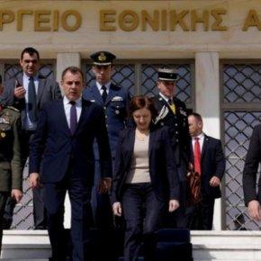 Πρεσβεία ΗΠΑ: Καλωσορίζουμε τον κ. Παναγιωτόπουλο μόλις μπορέσει ναταξιδέψει
