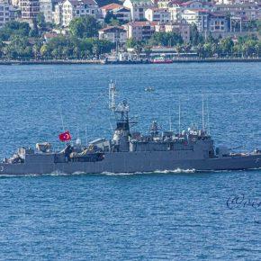 Επιβεβαίωση της αναβάθμισης των «αρχαίων» τουρκικών γαλλικής ναυπήγησης κορβετώνBurak