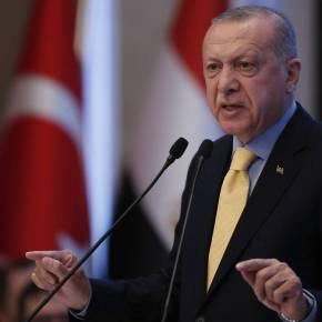 Παραλήρημα Ερντογάν: «Ή βγείτε στο πεδίο και πληρώστε το τίμημα ή ξεκινήστε διαπραγματεύσεις»