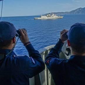 Κινητικότητα του τουρκικού στόλου κοντά σε Ρόδο και Κρήτη – Πώς απάντησε το ΠολεμικόΝαυτικό