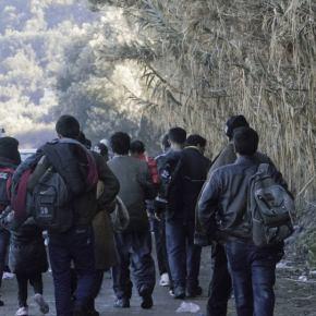 Ομάδες αλλοδαπών εισβάλλουν καθημερινά από τον Έβρο(βίντεο-φώτο)