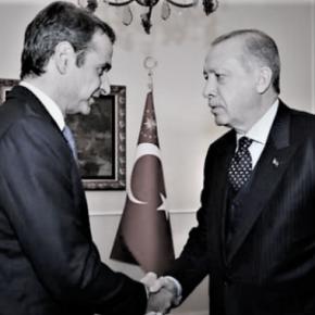 Μαξιμαλιστές Έλληνες με το Καστελόριζο και μινιμαλιστές Τούρκοι με την ΑγιάΣοφιά
