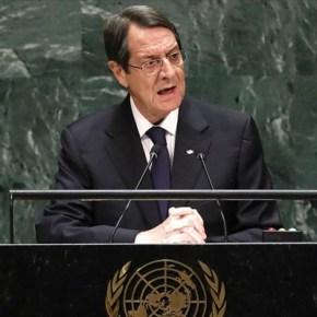 Αναστασιάδης: Δε θα ανεχθώ απειλές από τηνΤουρκία