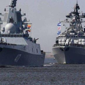 «Μήνυμα» Ρωσίας στην Τουρκία: Απλώνεται ο ρωσικός Στόλος της Αν.Μεσογείου από Καστελόριζο μέχριΣυρία