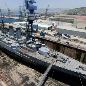 Το κρίσιμο καλοκαίρι των ναυπηγείων Ελευσίνας καιΣκαραμαγκά