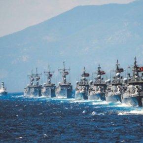 Οι Τούρκοι έβγαλαν πολεμικά πλοία στο Αιγαίο – Σε ετοιμότητα κυβέρνηση και ένοπλεςδυνάμεις