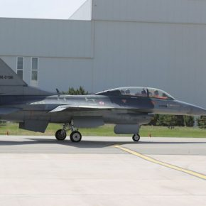 Παράδοση πρώτου τουρκικού F-16 Block 30 μετά από δομικήαναβάθμιση