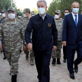 Αιφνιδιαστικά ο Χ.Ακάρ στα ελληνοτουρκικά σύνορα για επιθεώρηση των στρατευμάτων – Τι ετοιμάζει ηΆγκυρα;