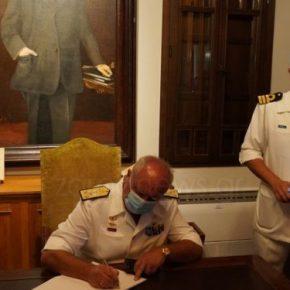 Α/ΓΕΝ Αντιναύαρχος Πετράκης: Με φράση του Βενιζέλου το μήνυμά του για ταελληνοτουρκικά