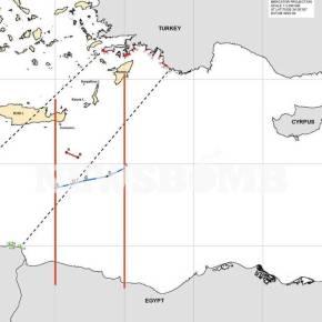 ΑΟΖ Ελλάδας – Αιγύπτου: Αυτός είναι ο χάρτης της συμφωνίας -Έτσι ακυρώνεται το τουρκολιβυκόμνημόνιο