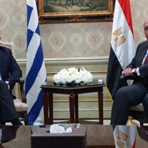 Αθήνα-Κάιρο υπογράφουν για ΑΟΖ: Στην Αίγυπτο εσπευσμένα οΔένδιας
