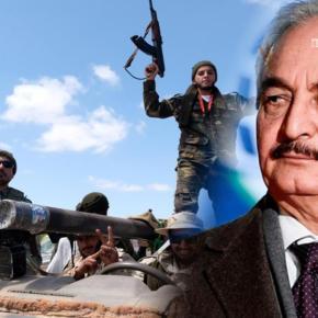 Ο Χαφτάρ ζήτησε βοήθεια από τις ΗΠΑ – Ενισχύεται με 3.000 Σύριους μισθοφόρους οLNA