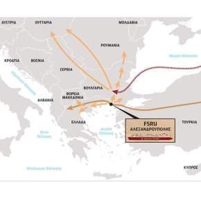 Ενεργειακός κόμβος ηΑλεξανδρούπολη