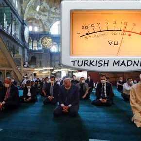 Αν πιστέψουμε τον Ερντογάν, η κατοχική δύναμη αναμένεται τις επόμενες μέρες να ανοίξει την πόρτα τουφρενοκομείου…