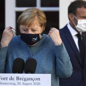 Μακρόν σε Μέρκελ: Αλληλεγγύη και προστασία σε Ελλάδα καιΚύπρο