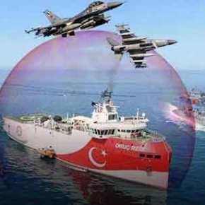 To Oruc Reis εξήλθε του λιμανιού της Αττάλειας κι έλαβε θέση απόπλου – Τουρκικές φρεγάτες πλέουν προς τηνπεριοχή