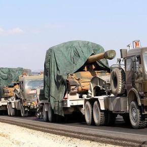 Ανοίγει και νέο μέτωπο η Άγκυρα: Στρατιωτική φάλαγγα 40 αρμάτων μάχης παρατάσσεται στον Έβρο.Κλιμακώνουν και προκαλούν οι Τούρκοι τώρα και στην περιοχή τουΈβρου