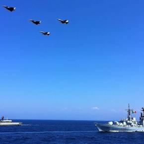 Άσκηση Eunomia: Δέος! Τετραμερής ασπίδα κατά της Τουρκίας στην αν. Μεσόγειο(pics+vids)