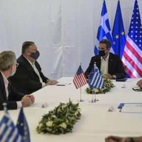 Δηλώσεις Μητσοτάκη-Πομπέο: Πυλώνας σταθερότητας η Ελλάδα – Μηνύματα προς τηνΤουρκία