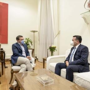 Αθήνα: Ο Ζάεφ συναντήθηκε και με τον Αλέξη Τσίπρα – τι είπαν(βίντεο)