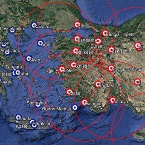 Η Τουρκία έχει εγκαταστήσει S-400 σε 19 στρατιωτικές βάσεις σε όλη τηχώρα
