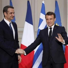 Κρίσιμη συνάντηση Μακρόν-Μητσοτάκη – Αυστηρό μήνυμα του Γάλλου προέδρου στηνΤουρκία