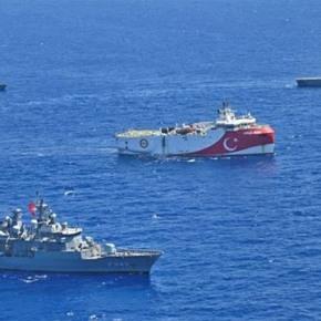 Παραλογισμός από την Τουρκία: Ζητάνε να αποσύρουμε τα πλοία μας από τηΜεσόγειο
