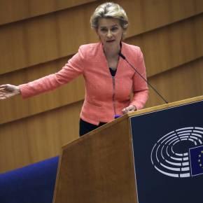 Ούρσουλα φον ντερ Λάιεν: Θετικό βήμα η αποχώρηση των τουρκικώνπλοίων