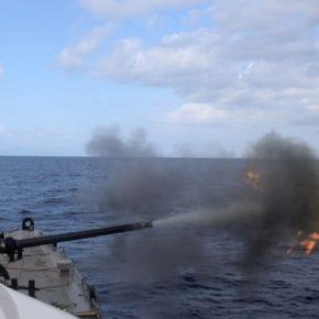 Εντυπωσιακές εικόνες από την άσκηση του Πολεμικού Ναυτικού«Λόγχη»