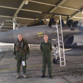 """Η αποστολή του Α/ΓΕΑ σε γαλλική """"φωλιά"""" των Rafale, πτήση και μεεξομοιωτή"""