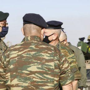 Α/ΓΕΕΘΑ στρατηγός Φλώρος στον Έβρο(ΦΩΤΟ)