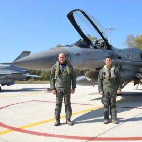 Πέταξε με Rafale ο Αρχηγός του Γενικού ΕπιτελείουΑεροπορίας