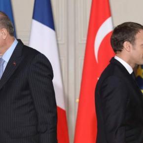 Προς ρήξη Γαλλία-Τουρκία: Ανακαλεί το Παρίσι τον Πρέσβη στηνΆγκυρα