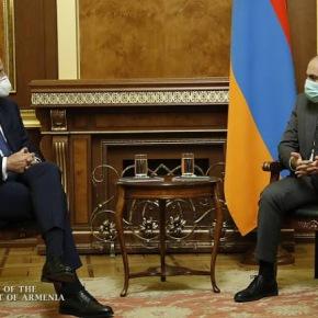 Πρωθυπουργός Αρμενίας- Έλληνας ΥΠΕΞ: Υπογράμμισαν το απαράδεκτο της επεκτατικής πολιτικής τηςΤουρκίας
