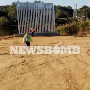 Έβρος: Αυτός είναι ο φράχτης που κατασκευάζεται – Στην επίβλεψη των έργων οΜητσοτάκης