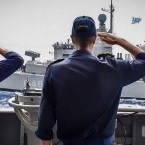 Handelsblatt: «Η Ελλάδα πρέπει να βασιστεί στο Ναυτικό της, εκεί υπάρχει ποιοτική διαφορά με τηνΤουρκία!»