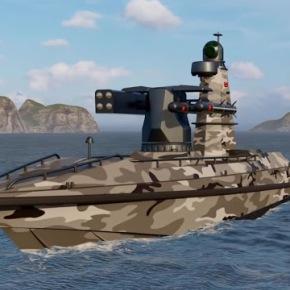 Η Τουρκία παρουσιάζει το πρώτο μη επανδρωμένο πολεμικό πλοίο τηςχώρας