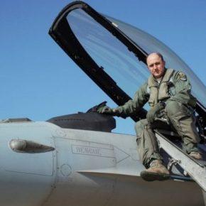 A/ΓΕΑ: Ο Αντιπτέραρχος Μπλιούμης στην 116 Πτέρυγα Μάχης – «Πέταξε» με μαχητικά F-16[pics]