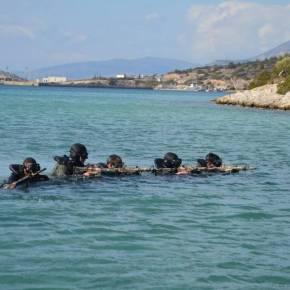 Ένοπλες Δυνάμεις: Τα «βατράχια» Ελλάδας και Αιγύπτου δίνουν δυναμική απάντηση στηνΤουρκία