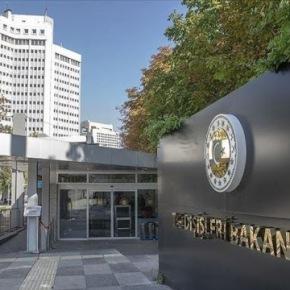 Το τουρκικό ΥΠΕΞ απαντά στον Δένδια για τις πολιτικές τηςΆγκυρας