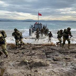 Τουρκία: Ολοκληρώθηκε αποβατική άσκηση των ειδικώνδυνάμεων