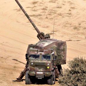 Κύπρος: «Η Εθνική Φρουρά παρέλαβε τη δεύτερη Μοίρα αυτοκινούμενων πυροβόλων NORAB-52»