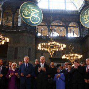 Προκλητικός Ερντογάν για Αγιά Σοφιά: «Είναι το στέμμα για το2020»