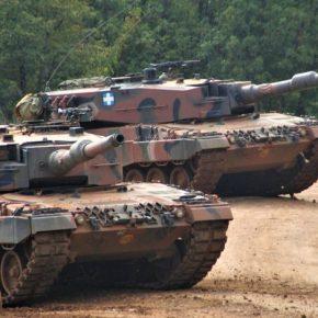 Το πρόγραμμα αναβαθμίσεως των Leopard2A4