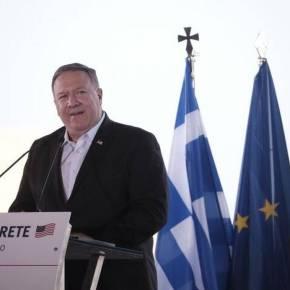 Στήριξη Πομπέο σε Μητσοτάκη: Το έργο ΗΠΑ – Ελλάδας στην Ανατολική Μεσόγειο διασφαλίζει τηνελευθερία